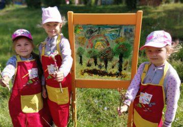 Vasaras radošas aktivitātes Erasmus+projekta DEHORS ietvaros