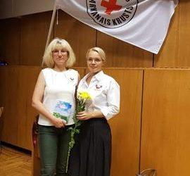 Pedagogi piedalījās Latvijas Sarkanā Krusta konferencē